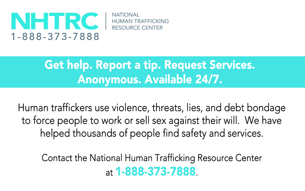 sex trafficking national human trafficking resource center