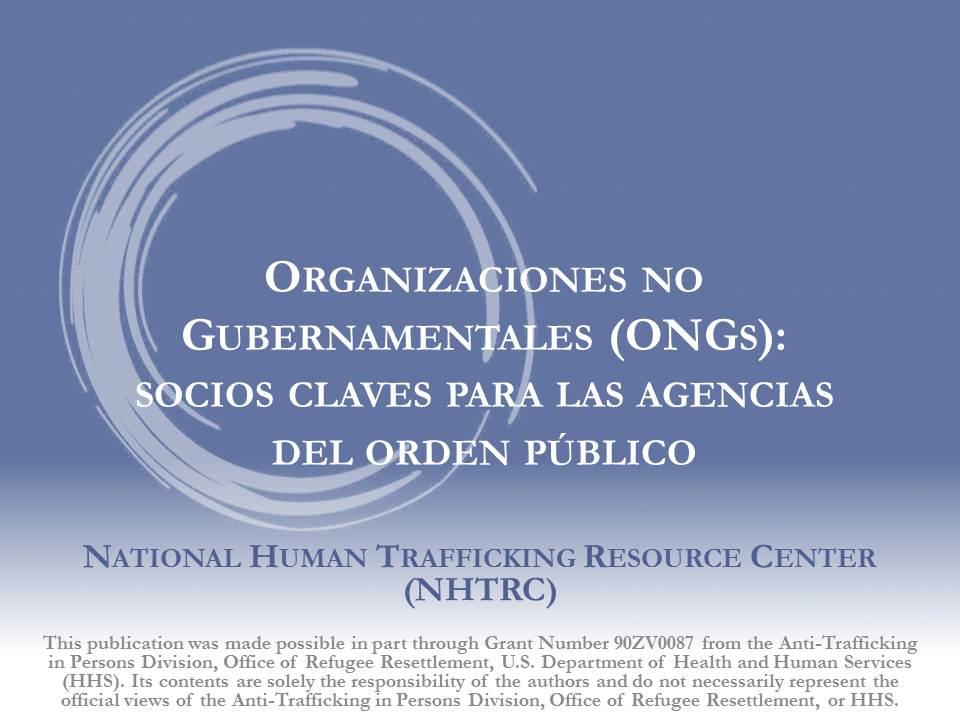 ONGs y Socios Claves