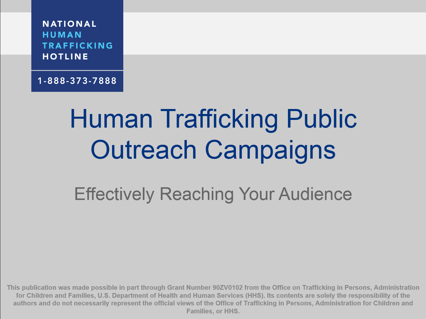 Public Outreach Campaigns