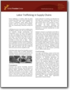 Labor Trafficking in Supply Chains